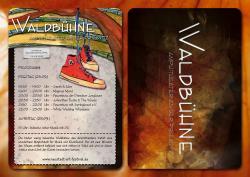 Flyer zur Waldbühne beim Naf 23.9.2016