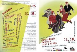 deutsch-israelische Clownsreise im Projekttheater Dresden So. 14. & Mo. 15.10.